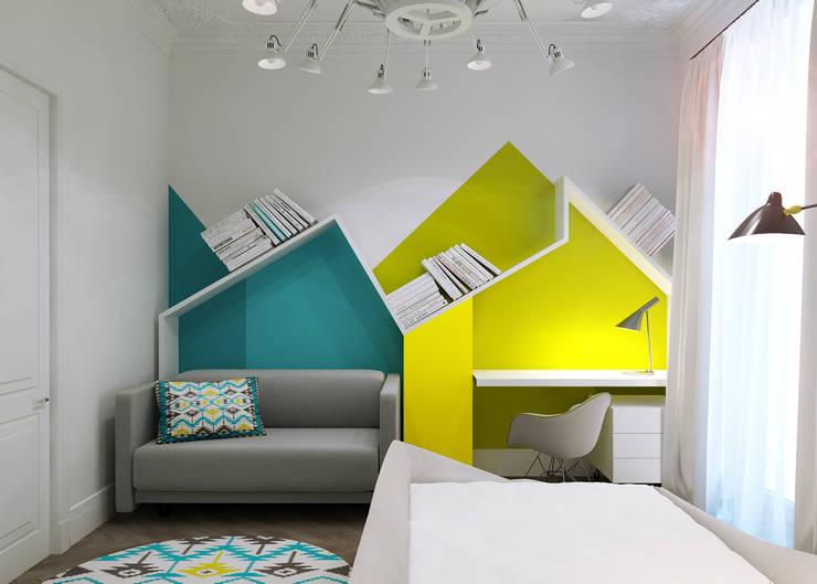 Chambre d'enfant de style de style Minimaliste par Projecto2