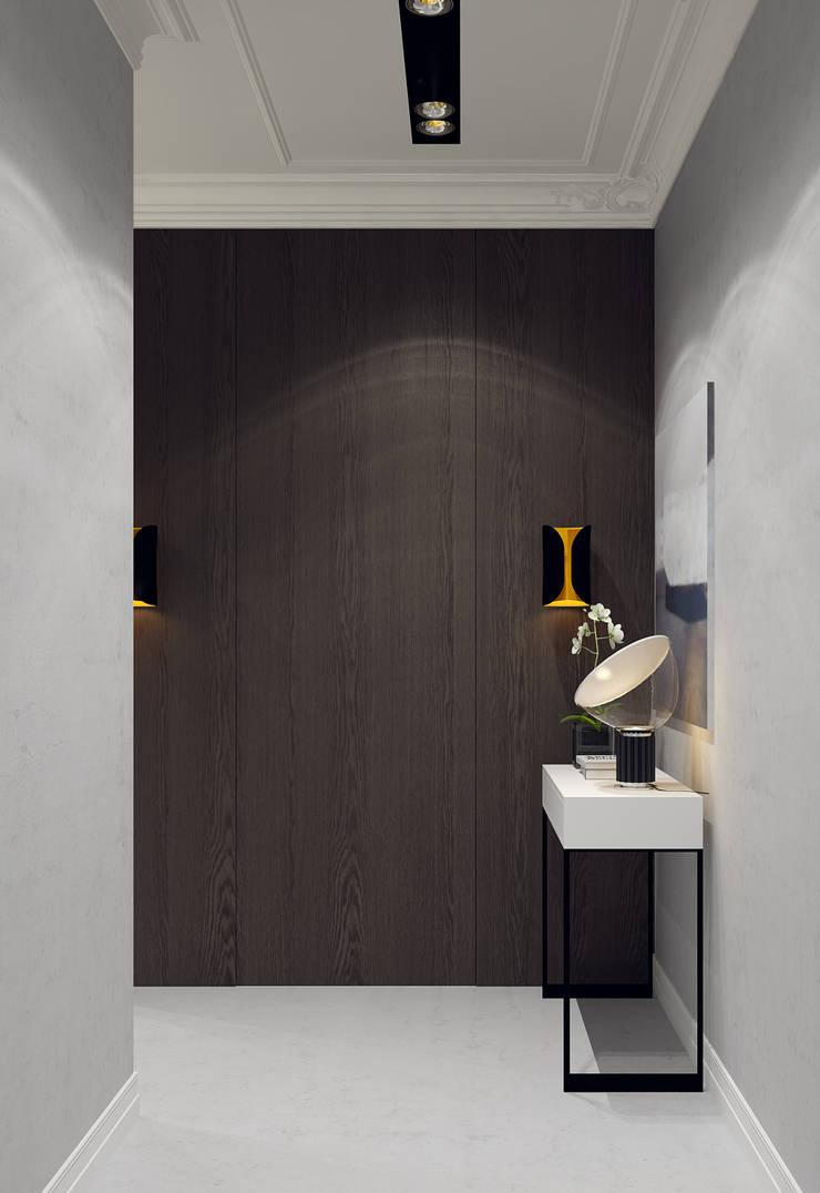 Дизайн-проект квартира Остоженка: Коридор и прихожая в . Автор – Projecto2
