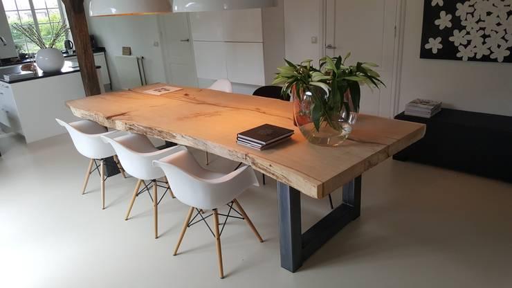Sala de jantar  por Woodlovesyou&more