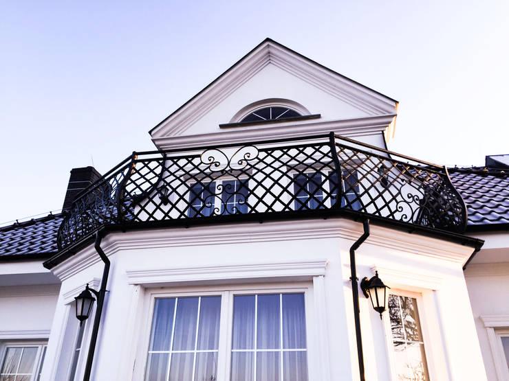 Realizacja ogrodzenia 10: styl , w kategorii Balkon, weranda i taras zaprojektowany przez Armet