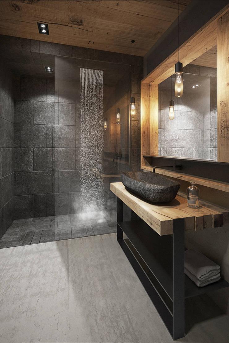 Salle de bain moderne par razoo-architekci Moderne