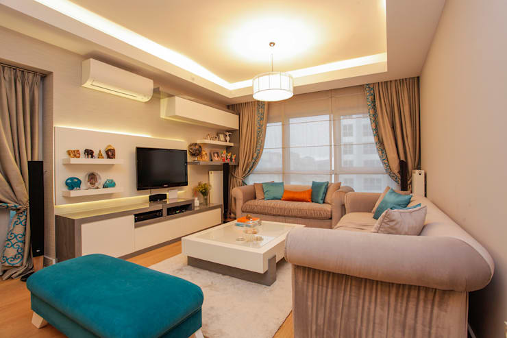 modern Living room by Canan Delevi