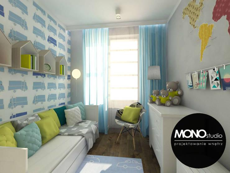 Dormitorios infantiles de estilo moderno por MONOstudio