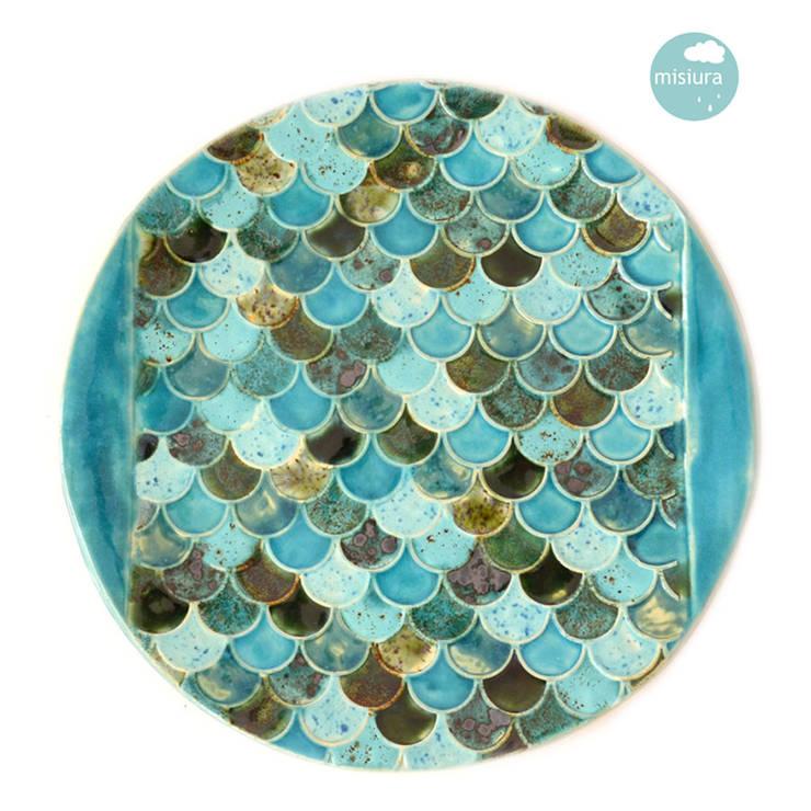 Patery i talerze: styl , w kategorii Salon zaprojektowany przez AGNIESZKAPRUCIA MISIURA DESIGN