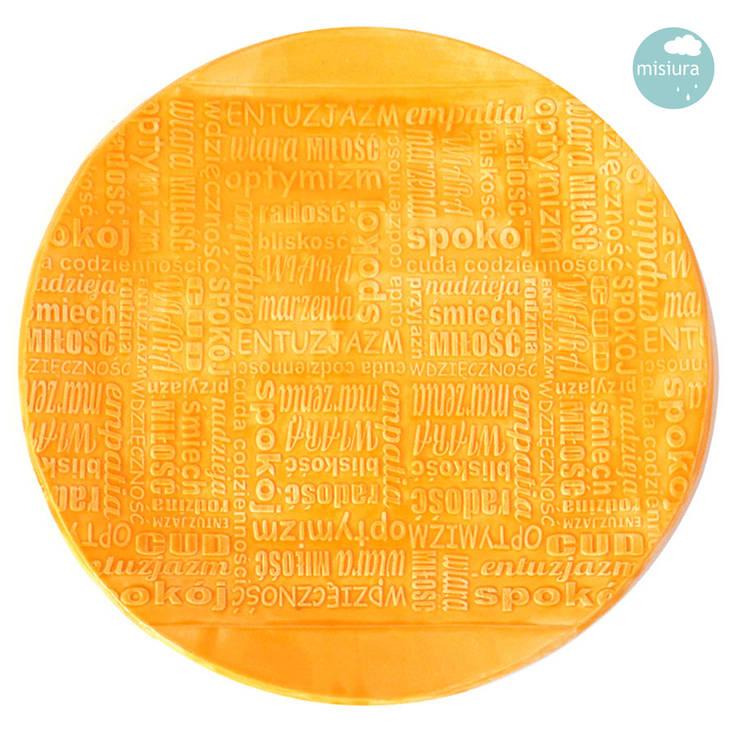 Talerz słoneczny: styl , w kategorii Salon zaprojektowany przez AGNIESZKAPRUCIA MISIURA DESIGN