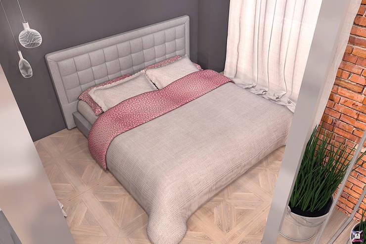Квартира на ул. Полевая: Спальни в . Автор – A.workshop,