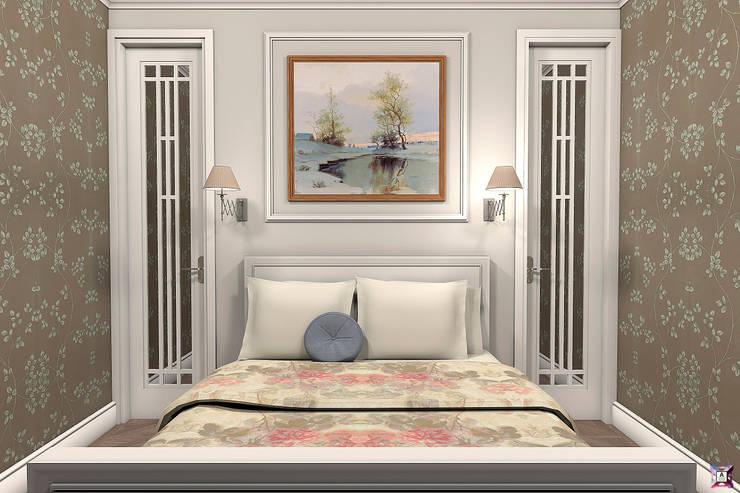 Квартира на ул. Садовая: Спальни в . Автор – A.workshop