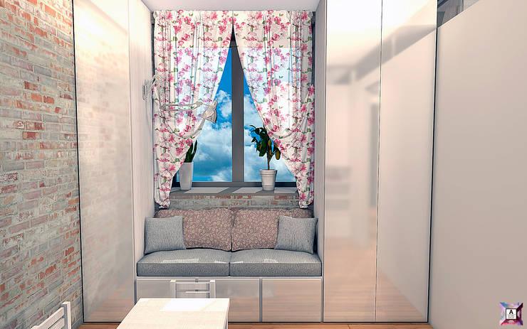 Квартира на ул. Первомайская: Детские комнаты в . Автор – A.workshop