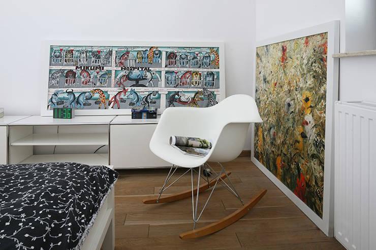 Apartament Helenów: styl , w kategorii Sypialnia zaprojektowany przez REFORM Konrad Grodziński
