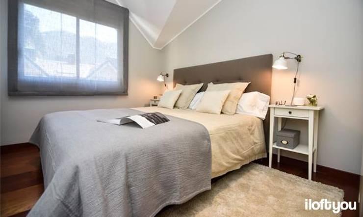 Piso en Andorra: Dormitorios de estilo clásico de iloftyou