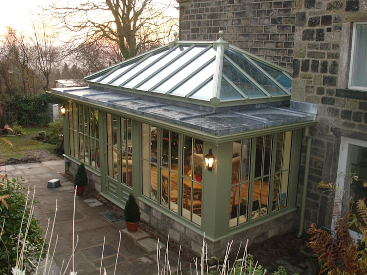 Orangeries:  Conservatory by Franklin Windows