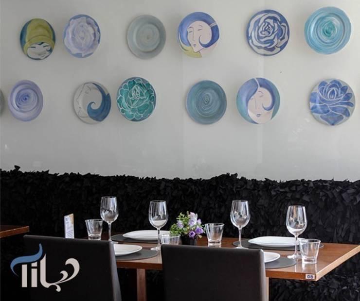 Restaurante Til : Espaços gastronômicos  por Mascarenhas Arquitetos Associados