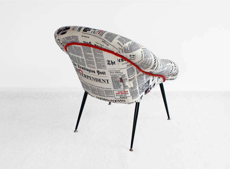 Fotele : styl , w kategorii  zaprojektowany przez ak design ,Rustykalny