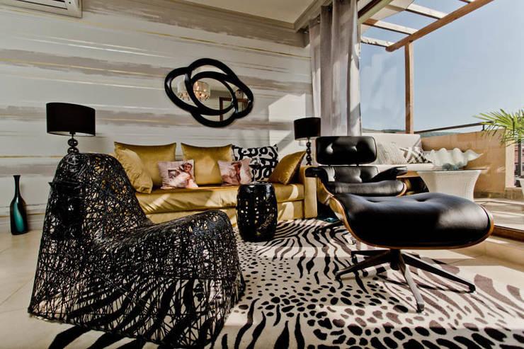 Апартаменты в Болгарии в комплексе <q>Сирена</q>: Гостиная в . Автор – Студия Татьяны Гребневой
