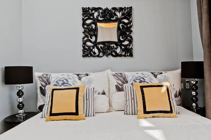 Апартаменты в Болгарии в комплексе <q>Сирена</q>: Спальная комната  в . Автор – Студия Татьяны Гребневой