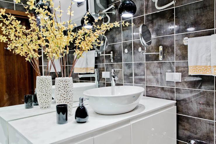 Апартаменты в Болгарии в комплексе <q>Сирена</q>: Ванная комната в . Автор – Студия Татьяны Гребневой