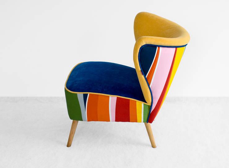 Fotele : styl , w kategorii  zaprojektowany przez ak design ,Industrialny