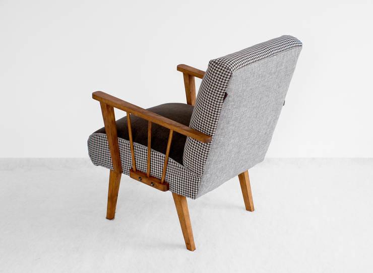 Fotele : styl , w kategorii Salon zaprojektowany przez ak design