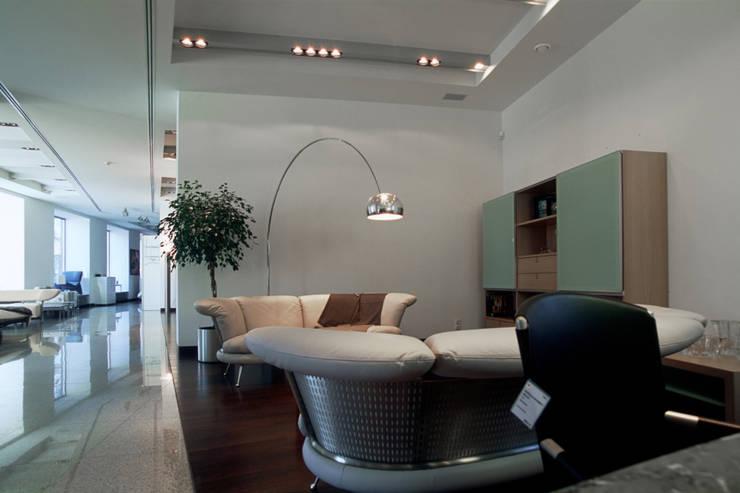 Вид на жилой пространство Rolf Benz: Офисы и магазины в . Автор – Архитектурное бюро Лены Гординой