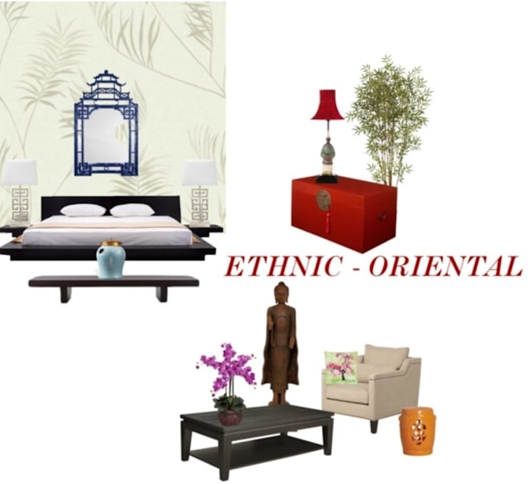 Oriental :  Bedroom by Studio D. Interiors