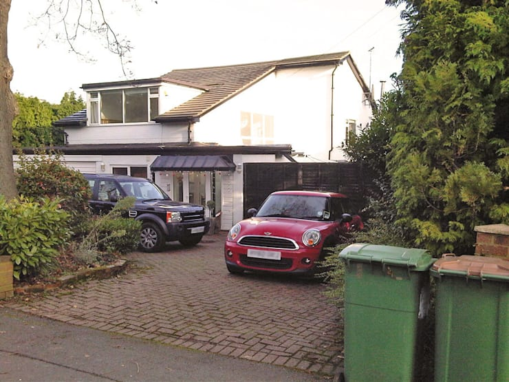 Surrey Home BEFORE:   by PAD ARCHITECTS