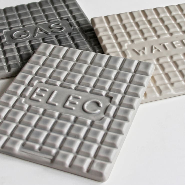 Manhole Coasters:  Household by StolenForm