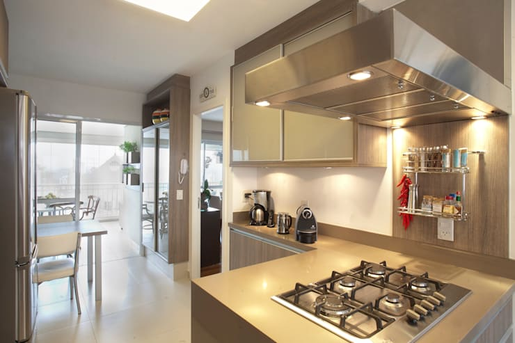 Cozinha: Cozinhas  por Pereira Reade Interiores