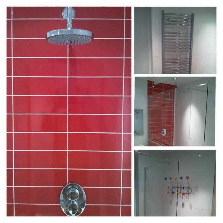 Kids Shower:  Bathroom by Rothwell James