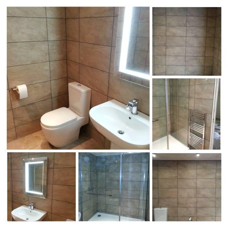 Basement bathroom:  Bathroom by Rothwell James