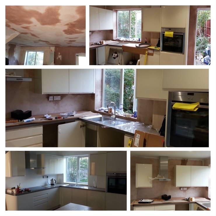Kitchen:  Kitchen by Rothwell James