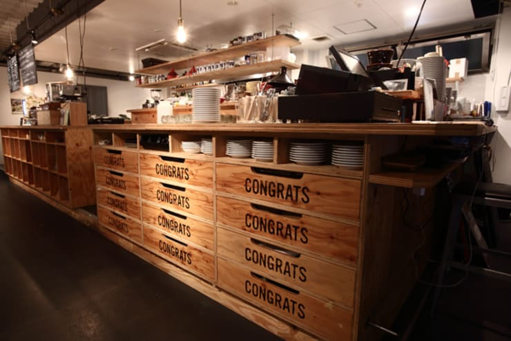 CONGRATS CAFE : maak inc.が手掛けたレストランです。,