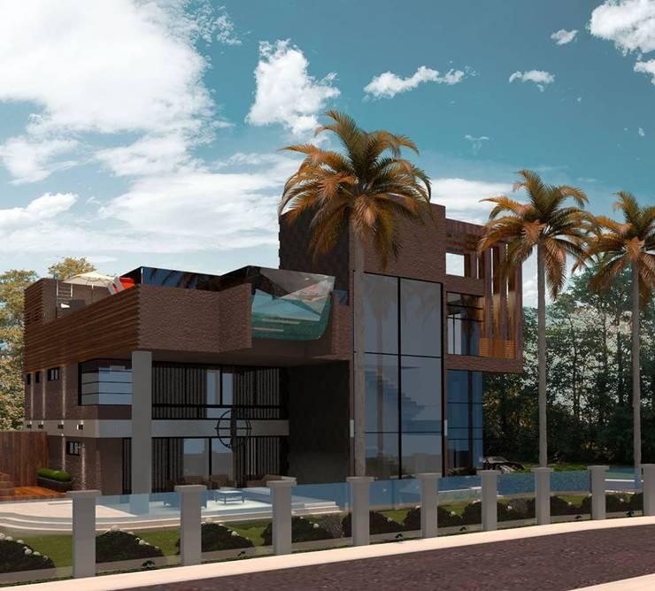 CASA 11 ESTALEIRINHO_SC: Casas  por TRAÇO FINAL ARQUITETURA E INTERIORES,Moderno