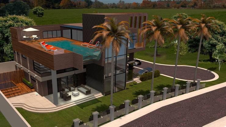 CASA 11 ESTALEIRINHO_SC: Casas  por TRAÇO FINAL ARQUITETURA E INTERIORES