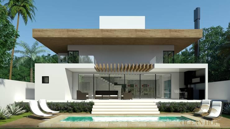 CASA 32 ESTALEIRINHO_SC: Casas  por TRAÇO FINAL ARQUITETURA E INTERIORES,