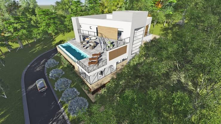CASA 48 ESTALEIRINHO_SC: Casas  por TRAÇO FINAL ARQUITETURA E INTERIORES