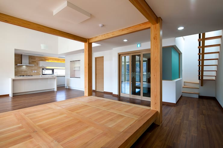 SONGCHU MAPLE HOUSE : IDEA5   ARCHITECTS의  거실