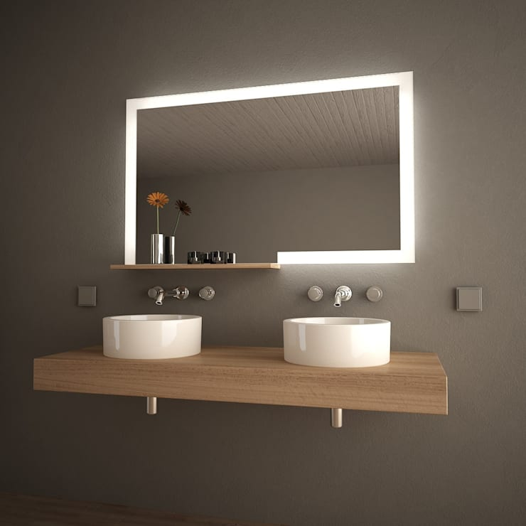minimalistic Bathroom by Lionidas Design GmbH