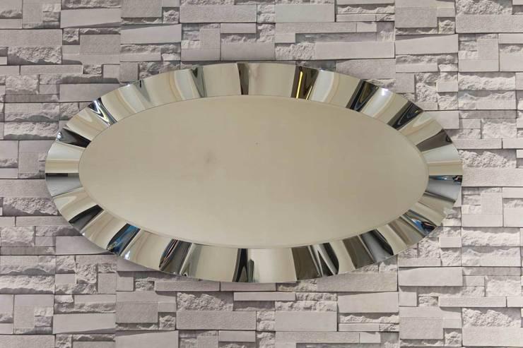 Anadolu Ayna – Oval Dalgalı Ayna:  tarz İç Dekorasyon
