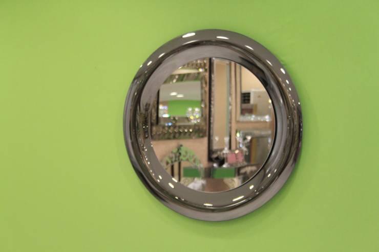 Anadolu Ayna – Yuvarlak bombeli ayna:  tarz İç Dekorasyon