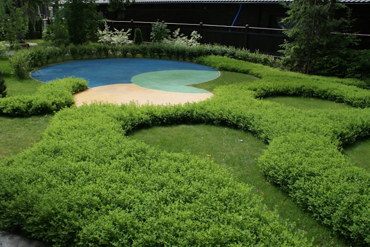 Огонек : Сады в . Автор – ПАН Ландшафт