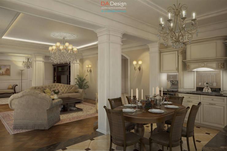 Столовые комнаты в . Автор – DA-Design, Классический