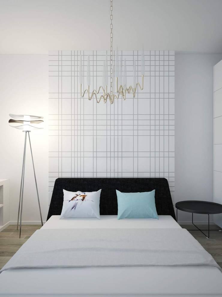 Дизайн квартиры в ярких оттенках: Детские комнаты в . Автор – White & Black Design Studio