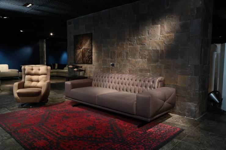 Mozza dİzayn – Bumerang: modern tarz Oturma Odası