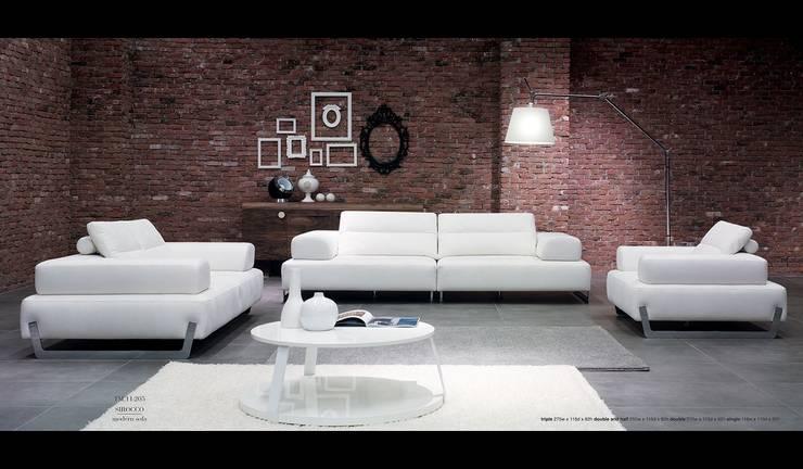 Mozza dİzayn – David: modern tarz Oturma Odası