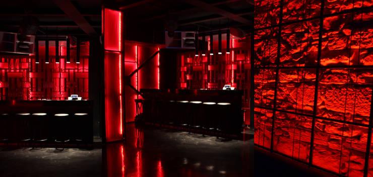 SIBEL SARIKAYA INTERIOR DESIGN OFFICE – Halikarnas The Club Dragon Bar:  tarz Bar & kulüpler