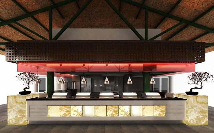 SIBEL SARIKAYA INTERIOR DESIGN OFFICE – Limak Lara Deluxe Hotel & Resort Show Büfeleri:  tarz Oteller