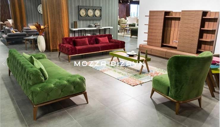 Mozza dİzayn – Retro:  tarz Oturma Odası