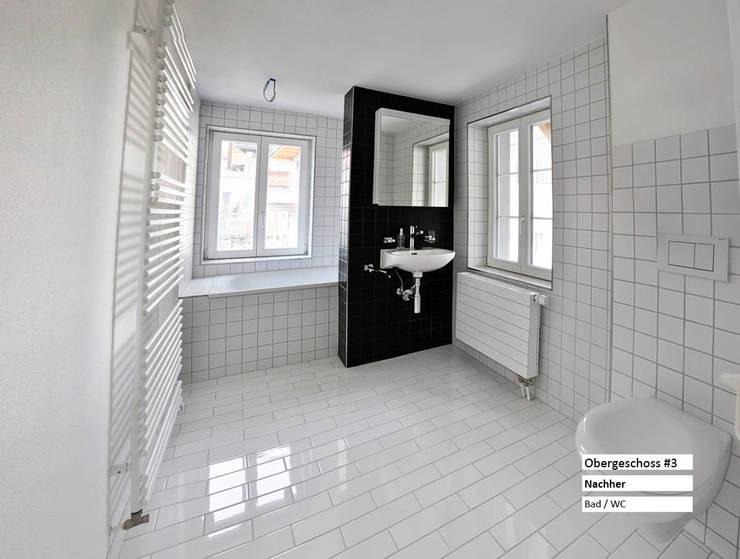 Ванные комнаты в . Автор – raumquadrat GmbH