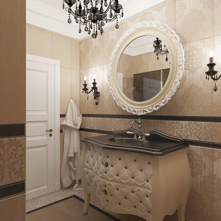 Banheiros  por архитектор-дизайнер Алтоцкий Михаил (Altotskiy Mikhail)
