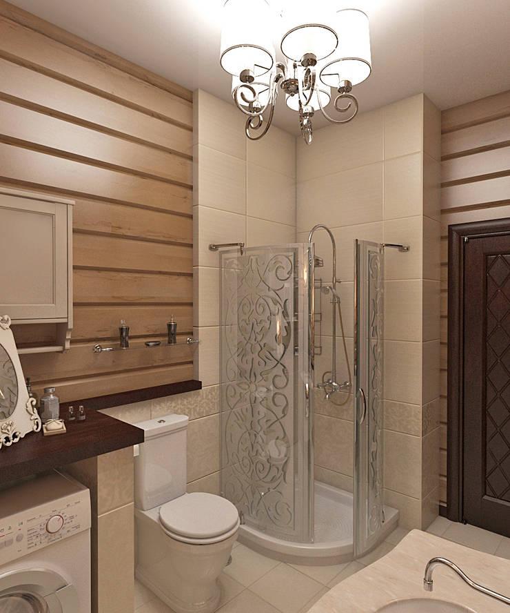 дизайн интерьера дачи: Ванные комнаты в . Автор – архитектор-дизайнер Алтоцкий Михаил (Altotskiy Mikhail),